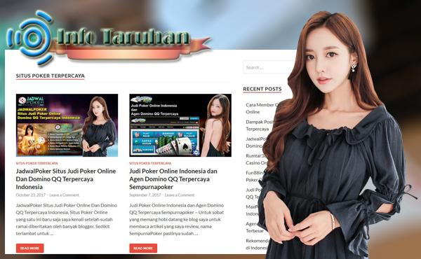 Infotaruhan.net Situs Info Judi Online Daftar Situs Poker Terpercaya